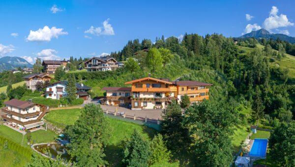 FEWO Wilder Kaiser preiswerte Ferienwohnungen in St. Johann in Tirol familienfreundlich direkt an der Skipiste online buchbar 1