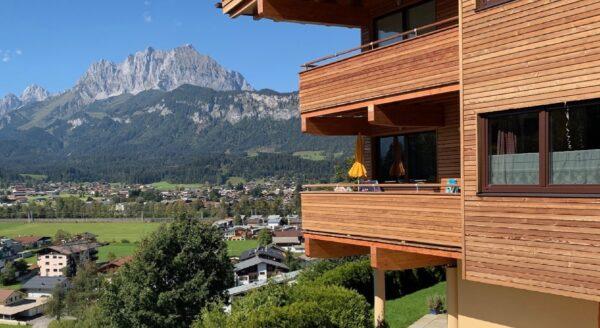 FEWO Wilder Kaiser preiswerte Ferienwohnungen in St. Johann in Tirol familienfreundlich direkt an der Skipiste online buchbar 4