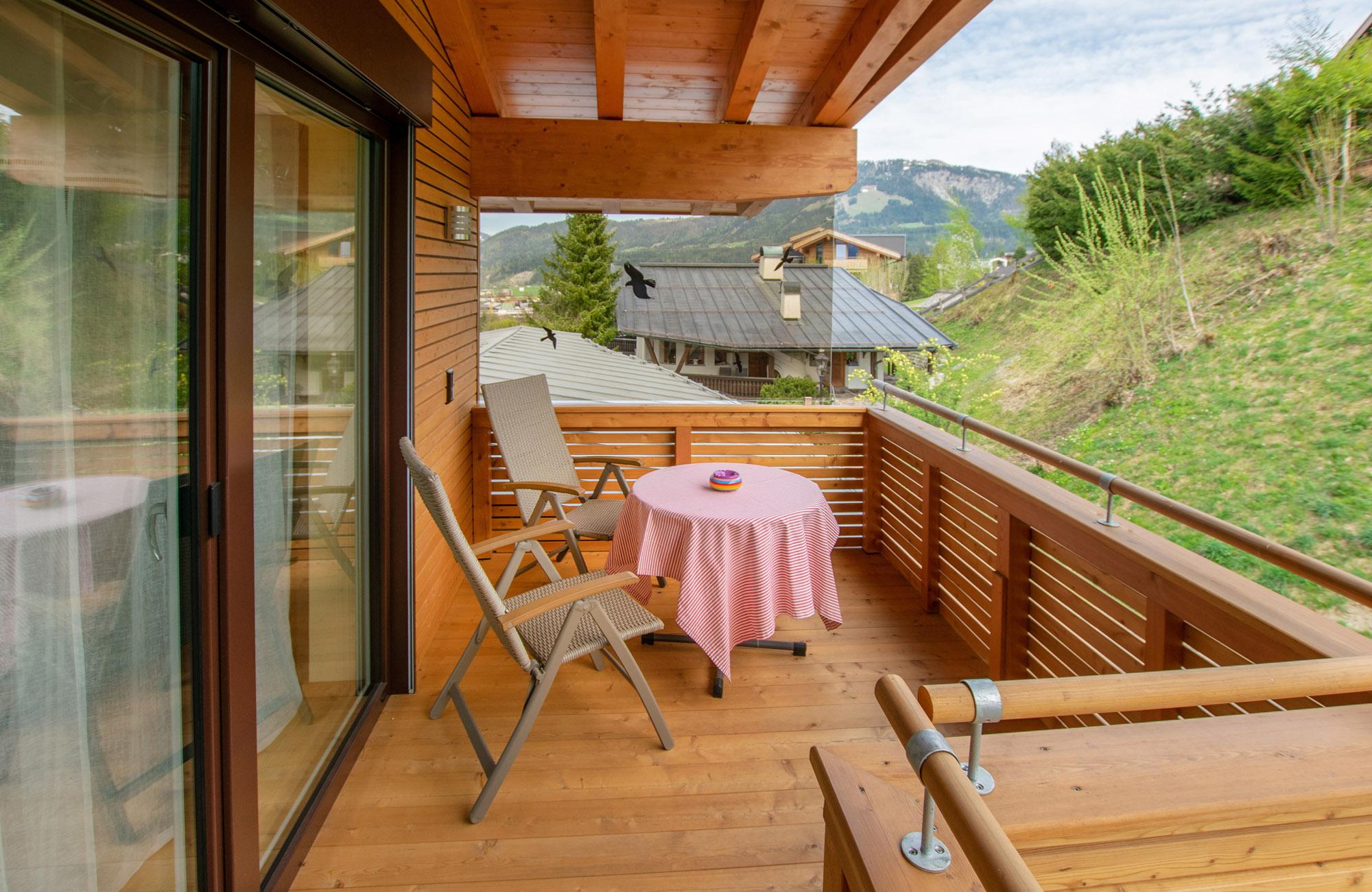 Luxus Penthouse Ferienwohnung mit Ausblick zum Wilder Kaiser 16