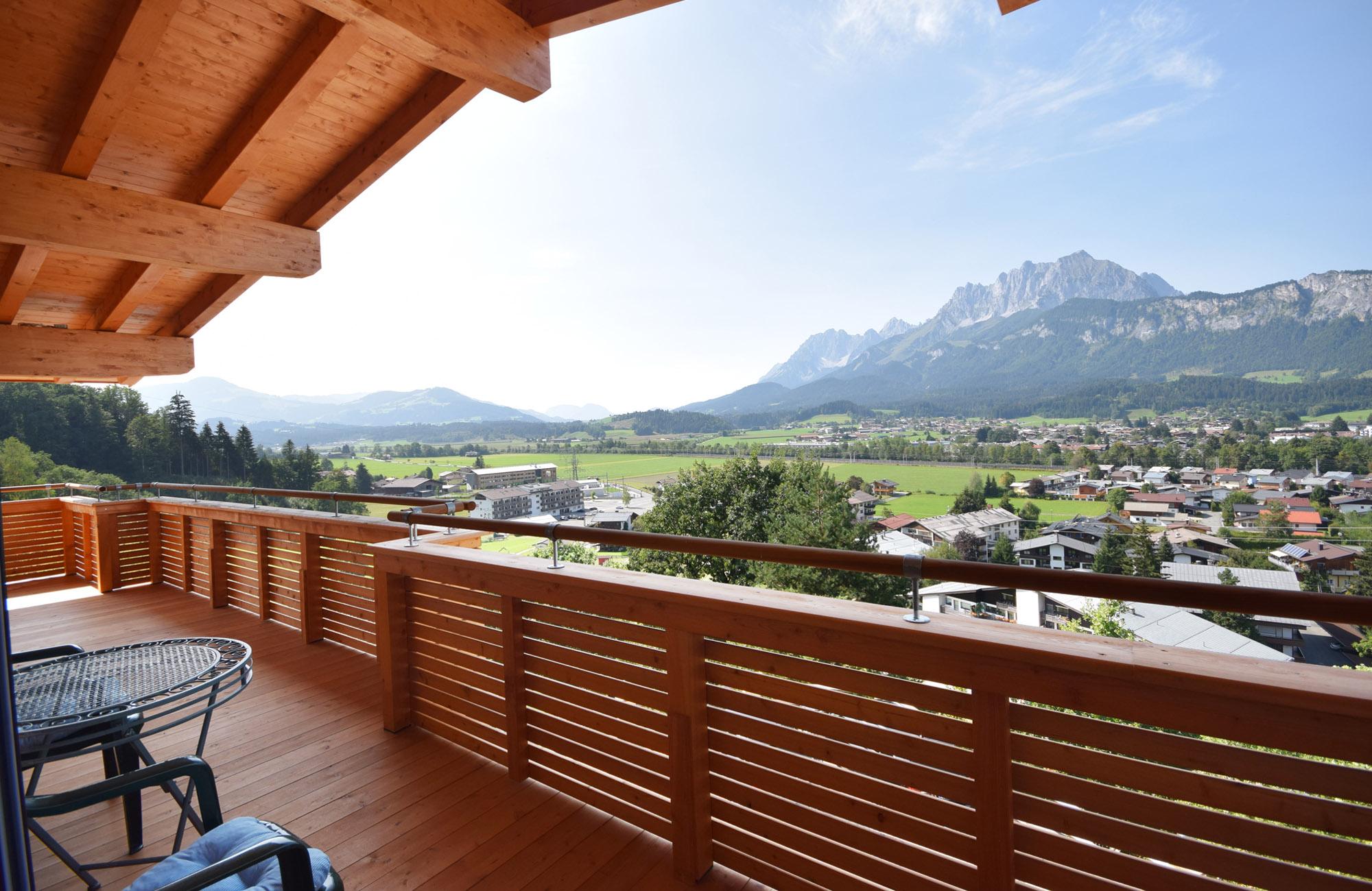 Luxus Penthouse Ferienwohnung mit Ausblick zum Wilder Kaiser 12