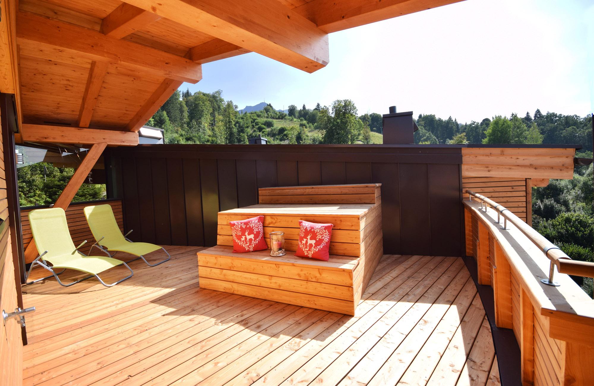 Luxus Penthouse Ferienwohnung mit Ausblick zum Kitzbüheler Horn