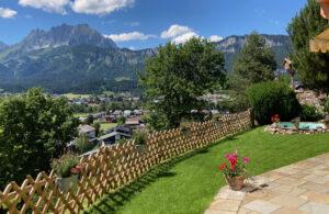 Ferienwohnung Kalkstein mit Bergblick Wilder Kaiser familienfreundlich