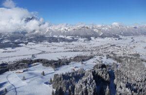 Familienfreundliche Ferienwohnung im Skigebiet St. Johann in Tirol Hochfeld Abfahrt