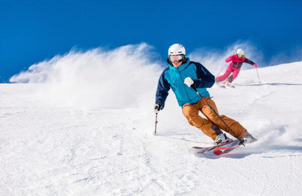 Skifahren im Pillersee Tal Tirol