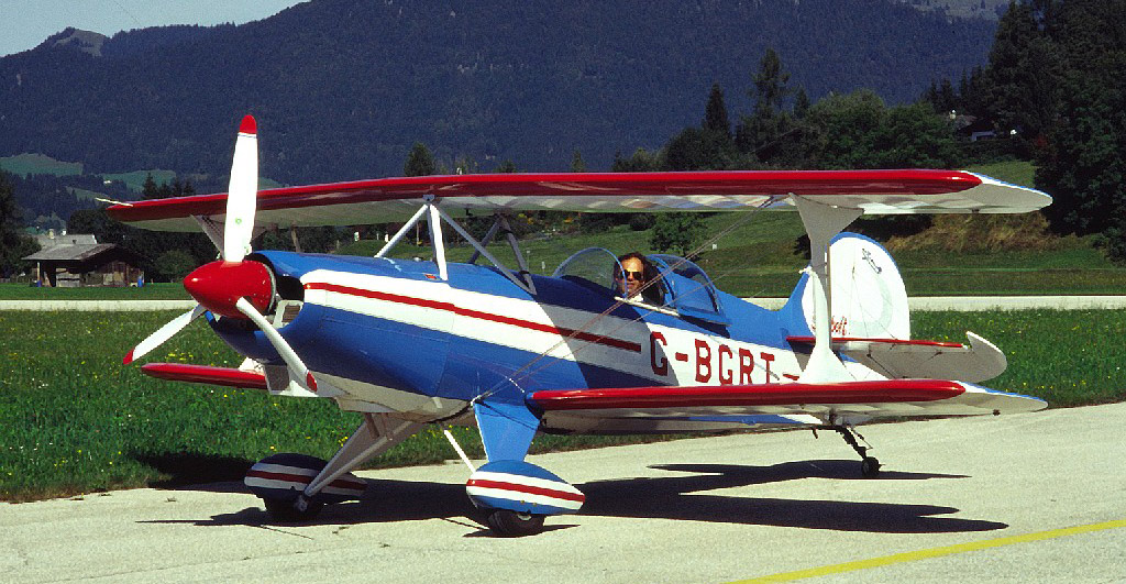 Skybolt Dopperdecker fliegen in St. Johann in Tirol